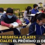 JALISCO REGRESA A CLASES PRESENCIALES EL 25 DE ENERO.