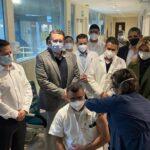 Aplican la primer vacuna contra Covid-19 en Sonora