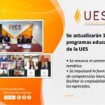 Se actualizarán 17 programas educativos de la UES